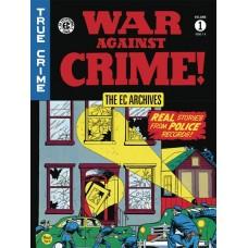 EC ARCHIVES WAR AGAINST CRIME HC VOL 01 @G