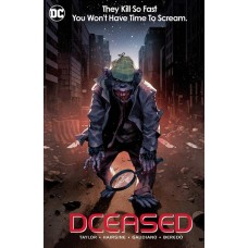 DCEASED #6 (OF 6) CARD STOCK HORROR VARIANT @D