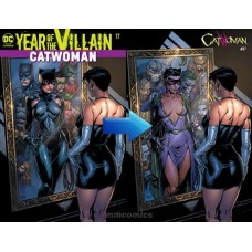 CATWOMAN #17 ACETATE COVER YOTV @D
