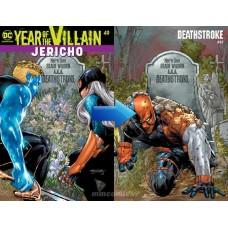 DEATHSTROKE #49 ACETATE COVER YOTV @D