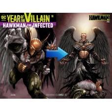 HAWKMAN #18 ACETATE COVER YOTV @D