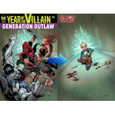 RED HOOD OUTLAW #40 ACETATE COVER YOTV @D