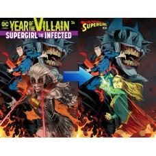SUPERGIRL #36 ACETATE COVER YOTV @D