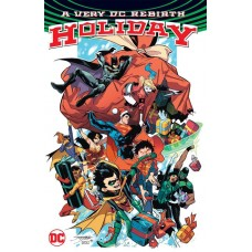 VERY DC UNIVERSE REBIRTH HOLIDAY TP @D