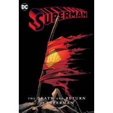 DEATH & RETURN OF SUPERMAN OMNIBUS NEW ED HC @D