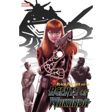 BLACK PANTHER AND AGENTS OF WAKANDA #2 LOPEZ MARY JANE VARIANT @D