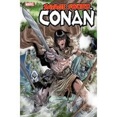 SAVAGE SWORD OF CONAN #10 @D