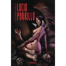 DYNAMITE ART OF LUCIO PARRILLO SGN ED HC @F