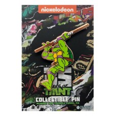 TMNT 35TH ANNIVERSARY LIMITED LEAPING DONATELLO PIN @F