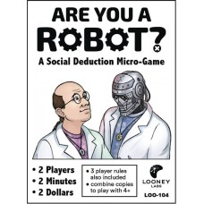 ARE YOU A ROBOT SOCIAL DEDUCTION MICRO GAME BUNDLE (5CT) @F