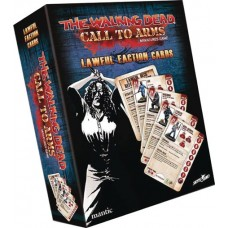 WALKING DEAD CALL TO ARMS LAWFUL FACTION CARDS @F