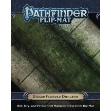 PATHFINDER RPG FLIP MAT BIGGER FLOODED DUNGEON @F