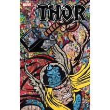 THOR #1 MR GARCIN COLLAGE VAR @D