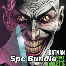 THREE JOKERS #3 COVER A B G H I REG AND VARIANT BUNDLE