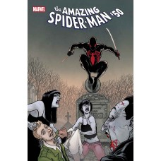 AMAZING SPIDER-MAN #50 KUDER SPIDER-MAN VAMPIRE HUNTER HORRO