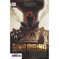 AMAZING SPIDER-MAN SINS RISING PRELUDE #1 CGC GRADED (C: 0-1