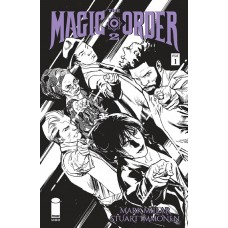 MAGIC ORDER 2 #1 (OF 6) CVR B IMMONEN B&W (MR)