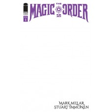 MAGIC ORDER 2 #1 (OF 6) CVR E BLANK CVR (MR)