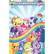 MY LITTLE PONY GENERATIONS #1 CVR B GARBOWSKA (C: 1-0-0)