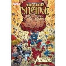 DEATH OF DOCTOR STRANGE AVENGERS #1
