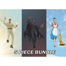 DC SPECIALS BUNDLE 5PC SET