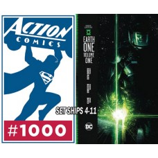 GREEN LANTERN EARTH ONE HC and ACTION COMICS #1000 SUPERMAN HC BUNDLE