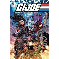 GI JOE A REAL AMERICAN HERO #249 CVR A DIAZ