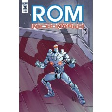 ROM & THE MICRONAUTS #3 (OF 5) CVR A OSSIO