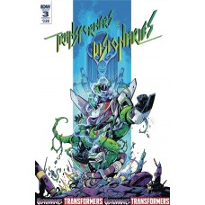 TRANSFORMERS VS VISIONARIES #3 (OF 5) CVR A OSSIO