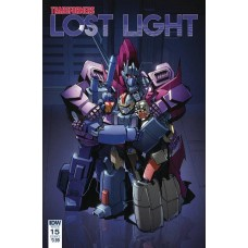 TRANSFORMERS LOST LIGHT #15 CVR A LAWRENCE