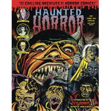 HAUNTED HORROR HC CRY FROM THE COFFIN