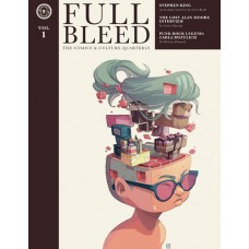 FULL BLEED COMICS & CULTURE QUARTERLY HC VOL 01