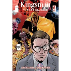 KINGSMAN RED DIAMOND #6 (OF 6) CVR A PARLOV (MR)