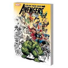 COLOR YOUR OWN AVENGERS TP