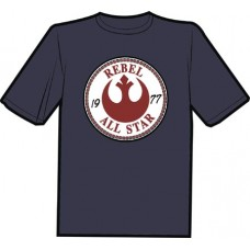 REBEL ALL STARS T/S LG