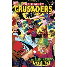 MIGHTY CRUSADERS #3 CVR A SHANNON