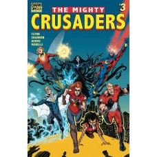 MIGHTY CRUSADERS #3 CVR B JIMENEZ