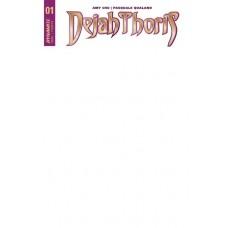 DEJAH THORIS #1 BLANK AUTHENTIX ED