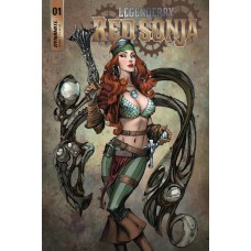 LEGENDERRY RED SONJA #1 (OF 5) CVR A BENITEZ