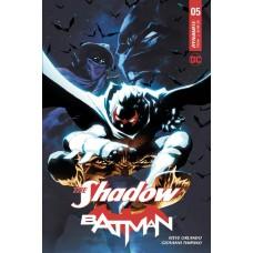 SHADOW BATMAN #5 (OF 6) CVR B TAN
