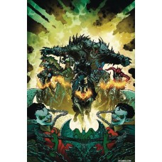 DF DARK KNIGHTS RISING WILD HUNT #1 SNYDER SGN