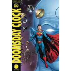 DF DOOMSDAY CLOCK #1 JIM LEE SGN