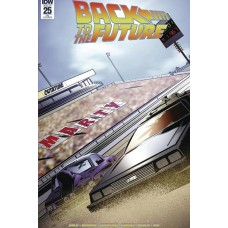 DF BACK TO THE FUTURE #25 AOD COLLECTIBLES EXC