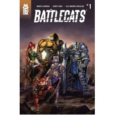 BATTLECATS #1 (OF 5)