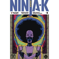 NINJA-K #4 CVR B POLLINA