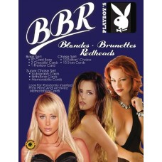 PLAYBOY BLONDES BRUNETTES & REDHEADS T/C SET (Net) (A)