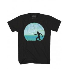 SW EPISODE 8 REY TRAINING PX BLACK T/S XXL