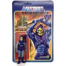 MOTU 3.75IN FULL COLOR REACTION FIGURE WAVE 2 SKELETOR (Net)