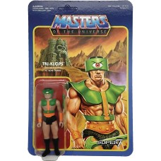 MOTU 3.75IN FULL COLOR REACTION FIGURE WAVE 2 TRI-KLOPS (Net