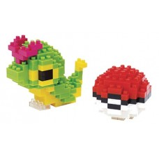 NANOBLOCK POKEMON CATERPIE & POKEBALL BLOCK SET